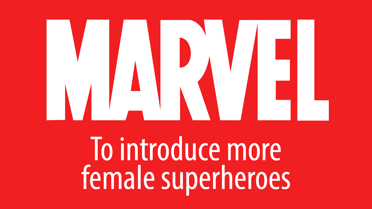 marvel female superhero movies