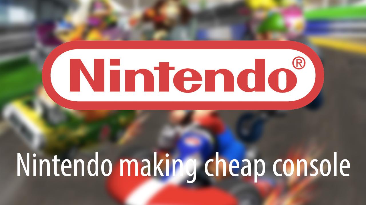 Nintendo console emerging market