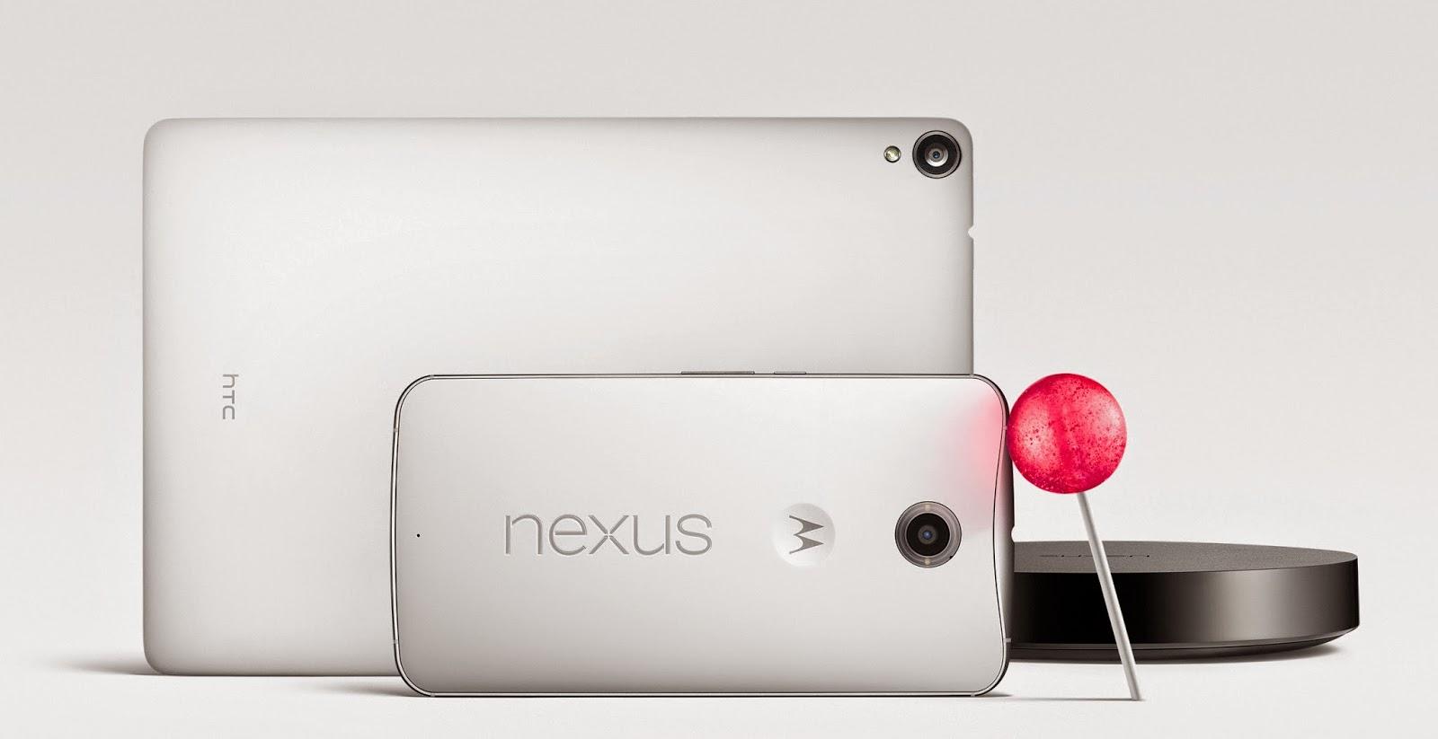 Nexus 6, 9 and Player Family