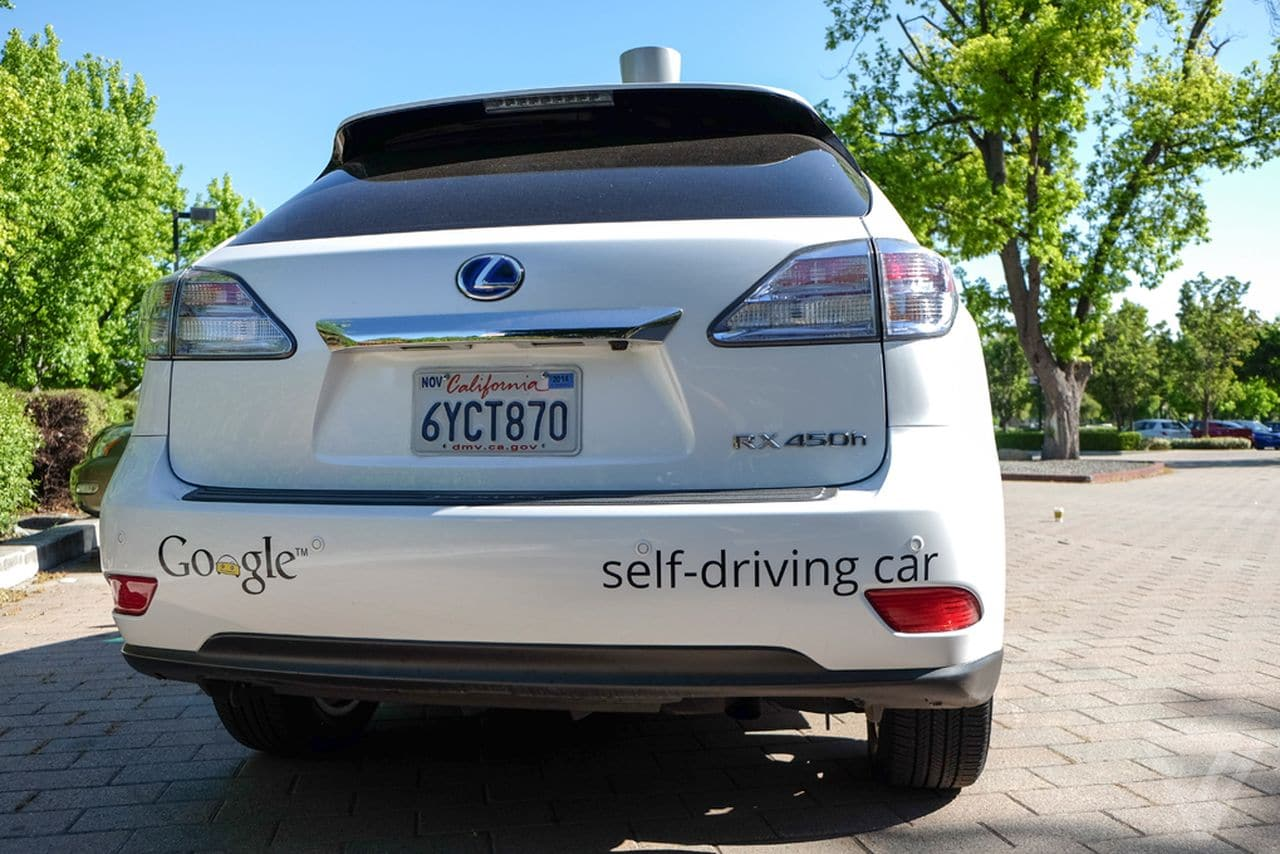 Google Self Driving Car Bus Crash